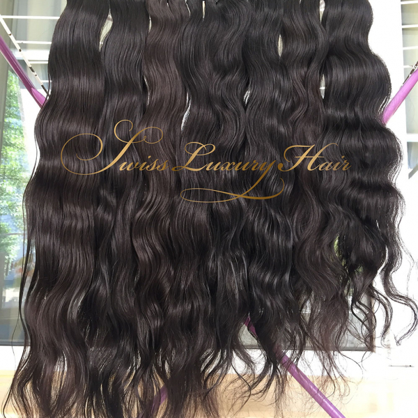 Swiss Luxury Hair - Luxury Raw Indian - Wavy