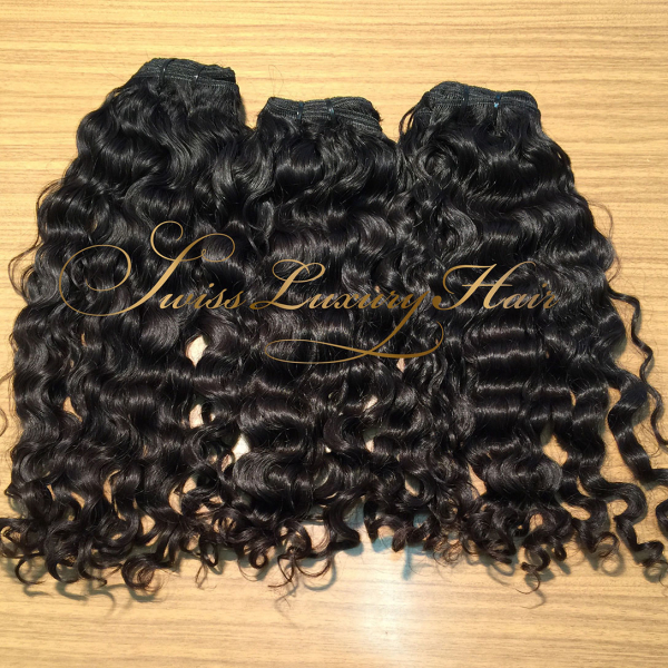 Swiss Luxury Hair - Cheveux Indiens Vague Profonde (Deep Wave)