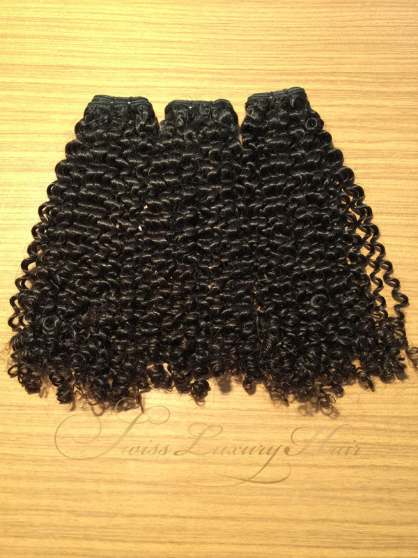 Swiss Luxury Hair - Raw Indian Kinky Curly