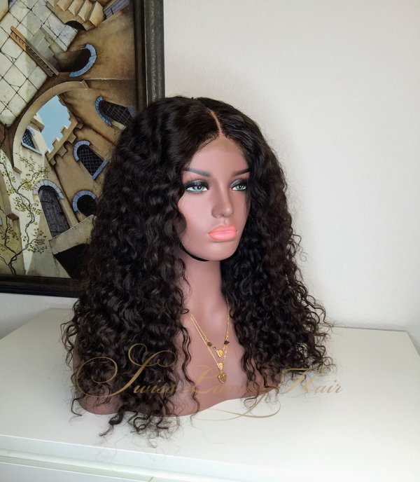 Swiss Luxury Hair Wig Deep Wave