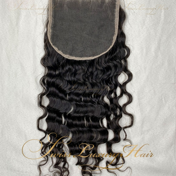 Swiss Luxury Hair - Closure 5x5 Deep Wave