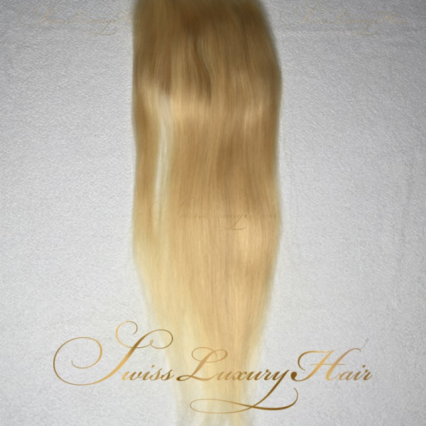 Swiss Luxury Hair - Closure 5x5 Straight Blonde