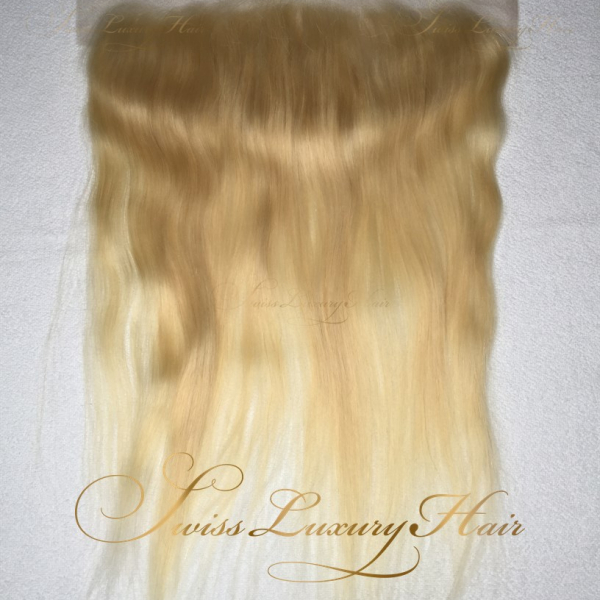 Swiss Luxury Hair - Lace Frontal 13x4 Straight Blonde
