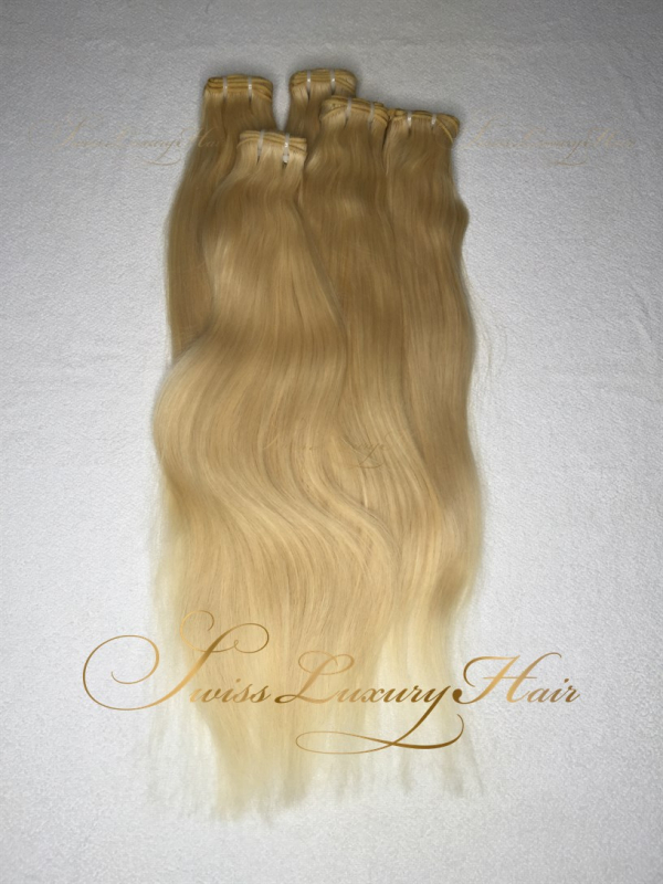 Swiss Luxury Hair Straight Blonde