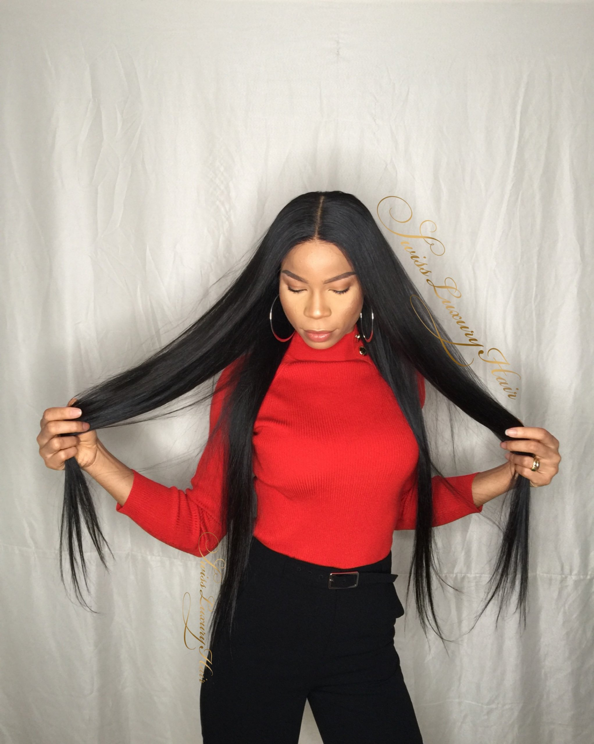 Swiss Luxury Hair Wig Straight