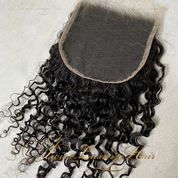 Swiss Luxury Hair - Closure 5x5 Deep Curly