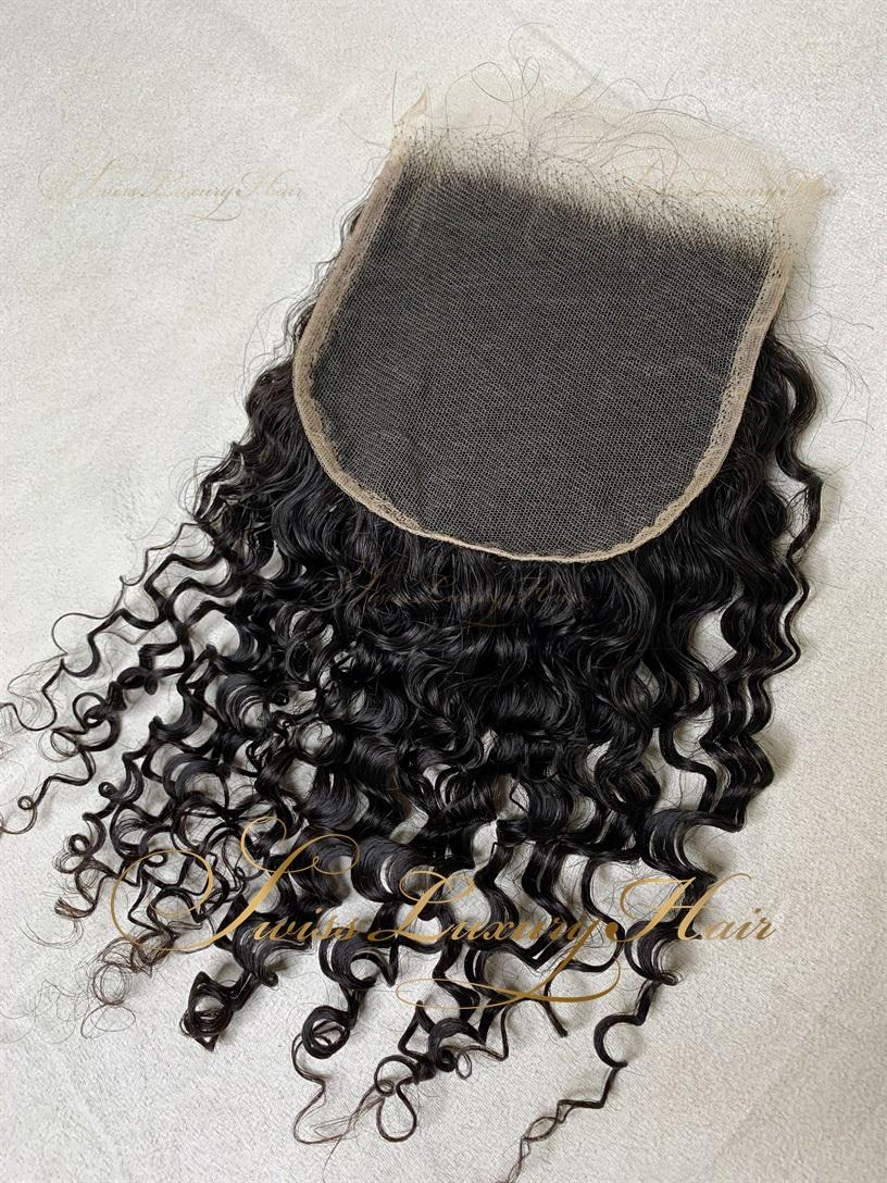 Swiss Luxury Hair - Closure 5x5 Deep Curly