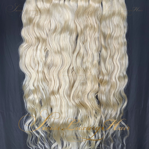 Swiss Luxury Hair Luxury 613 Blonde Raw Indian Wavy