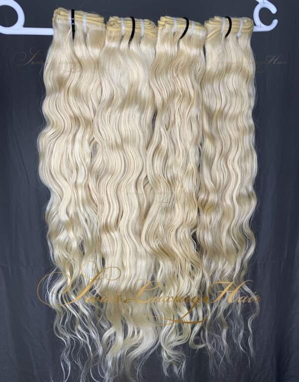 Swiss Luxury Hair Luxury 613 Blonde Raw Indian Wavy
