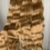 Swiss Luxury Hair Raw Indian Hair Honey Brown Wavy