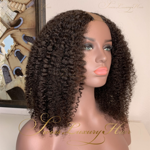 Swiss Luxury Hair - Type-4 Curl U-Part Wig
