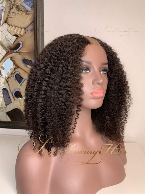 Swiss Luxury Hair - Type-4 Curl U-Part Wig
